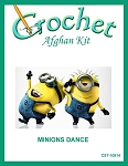 Minions Dance Crochet Afghan Kit