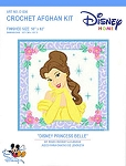 Disney Princess Belle Crochet Afghan Kit