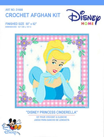 Disney Princess Cinderella Crochet Afghan Kit