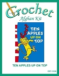 Ten Apples Up On Top Crochet Afghan Kit