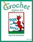 The Fox In Socks Crochet Afghan Kit