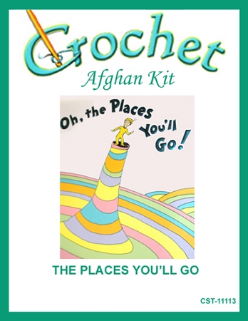 The Places You'll Go Crochet Afghan Kit