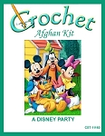 A Disney Party Crochet Afghan Kit