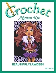 Beautiful Clawdeen Crochet Afghan Kit