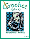 Monster High - Frankie Crochet Afghan Kit