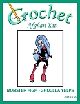 Monster High - Ghoulla Yelps Crochet Afghan Kit
