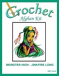 Monster High - Jinafire Long Crochet Afghan Kit