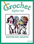 Monster High Juguetes Crochet Afghan Kit
