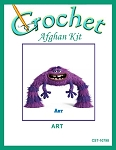 Art Crochet Afghan Kit
