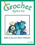 Mike & Sulley Best Friends Crochet Afghan Kit