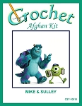 Mike & Sulley Crochet Afghan Kit