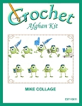 Mike Collage Crochet Afghan Kit