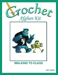 Walking To Class Crochet Afghan Kit