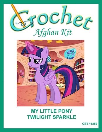 My Little Pony Twilight Sparkle Crochet Afghan Kit