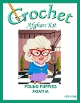 Pound Puppies - Agatha Crochet Afghan Kit