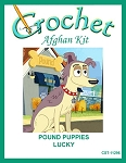 Pound Puppies - Lucky Crochet Afghan Kit