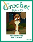 Pound Puppies - Mr. Nut Nut Crochet Afghan Kit