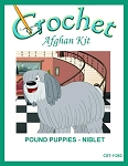 Pound Puppies - Niblet Crochet Afghan Kit