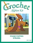 Pound Puppies - Strudel Crochet Afghan Kit