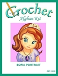 Sofia Portrait Crochet Afghan Kit