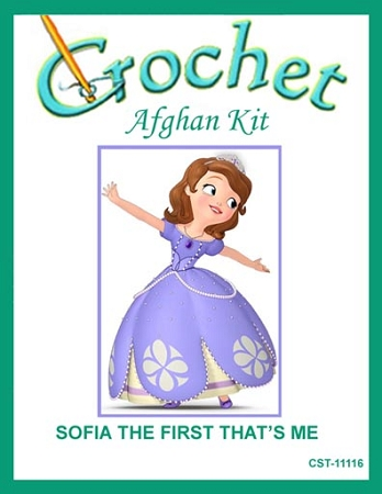 Sofia The First That's Me Crochet Afghan Kit