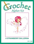A Strawberry Ballerina Crochet Afghan Kit