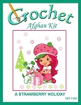 A Strawberry Holiday Crochet Afghan Kit