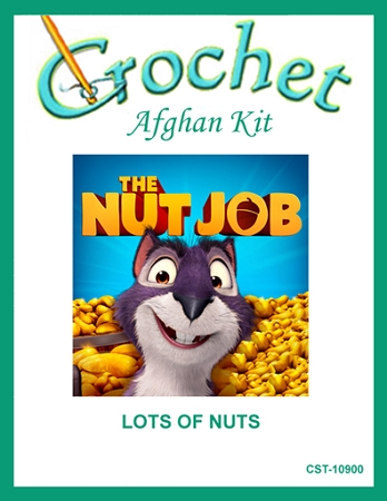 Lot's Of Nuts Crochet Afghan Kit