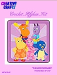 The Backyardigans Crochet Afghan Kit