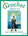 Loki - Agent Of Asgard Crochet Afghan Kit
