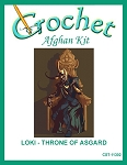 Loki - Throne of Asgard Crochet Afghan Kit
