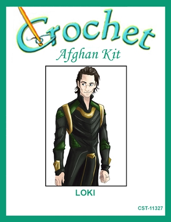 Loki Crochet Afghan Kit