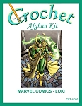 Marvel Comics - Loki Crochet Afghan Kit