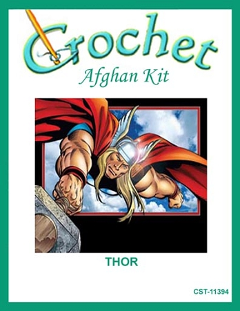 Thor Crochet Afghan Kit