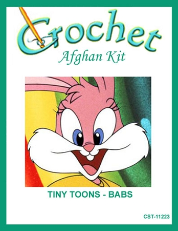 Tiny Toons - Babs Crochet Afghan Kit