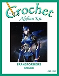 Transformers - Arcee Crochet Afghan Kit