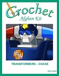 Transformers - Chase Crochet Afghan Kit
