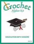 Graduation With Honors Crochet Afghan Kit