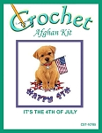 It's The 4th Of July Crochet Afghan Kit