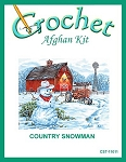 Country Snowman Crochet Afghan Kit