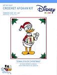 Donald Duck Christmas Crochet Afghan Kit