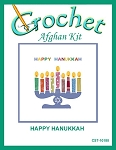 Happy Hanukkah Crochet Afghan Kit