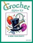 A New Year Party Crochet Afghan Kit