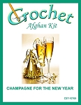 Champagne For The New Year Crochet Afghan Kit