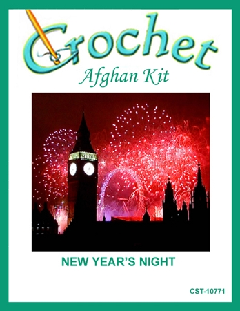 New Year's Night Crochet Afghan Kit