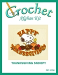Thanksgiving Snoopy Crochet Afghan Kit