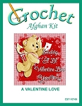 A Valentine Love Crochet Afghan Kit
