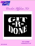 Git R Done Crochet Afghan Kit