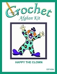 Happy The Clown Crochet Afghan Kit