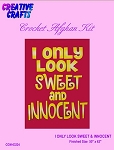 I Only Look Sweet & Innocent Crochet Afghan Kit